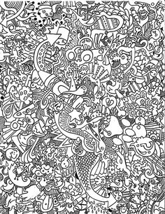 Awesome Coloring Pages For Adults | Trippy Coloring Pages Mushroom Coloring Pages | Hawaii Dermatology