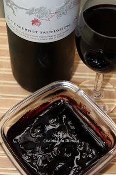 COZINHA DA MONICA: Geleia de vinho tinto (Cabernet Sauvignon) - Wine Jam
