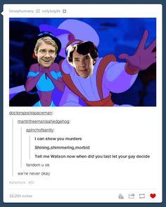 Tumblr's deprivation of Sherlock