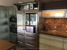 Sub Zero Refrigerator repair and WOLF stove repair restoration specialists by ACME,Certified Sub Zero Repair Service Experts in Los Wolf Stove, Subzero Refrigerator, High End Kitchens, Sub Zero, Kitchen Cabinets, Kitchen Appliances, House Design, Dream Kitchens, Beverly Hills