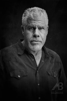 Ron Perlman - American actor ( Sons of Anarchy ) on Behance