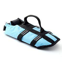 Funkeen Dog Life Jacket Aquatic Pet Safety Preserver Vest with Reflective Tape (Large, Blue) Funkeen http://www.amazon.com/dp/B01421KZ4S/ref=cm_sw_r_pi_dp_KLlLwb0B9G66Q