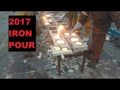 2017 FeLion Studios Pour Your Heart out Iron Pour