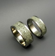 Minter + Richter   Titanium Rings - Hold Fast Titanium Wedding Rings   Titanium Rings   Minter + Richter