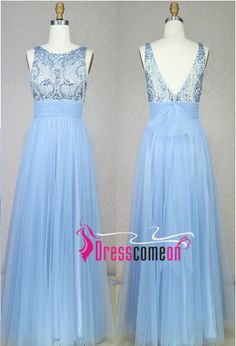 Real Made Beading Prom Dresses,V-Neck Floor-Length Evening Dresses, The charming Prom Dresses,Backless Evening Dresses, Charming Prom Dresses,