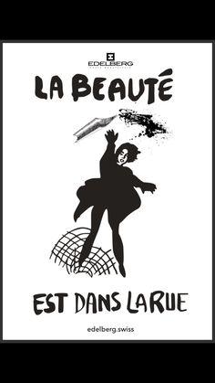 """""""La Beauté est dans la Rue"""" (Beauty is in the street) Poster, 1968 Paris Uprising"""