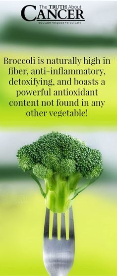 Glucoraphanin, gluconasturtiian, and glucobrassicin are three phytonutrients that help to detoxify your body at the cellular level and they're more available broccoli than any other!   Join us today on The Truth About Cancer!