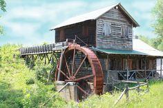 South Carolina Grist Mill.  Photo by bthorndyke - flickr.