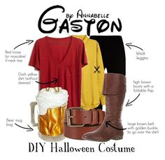 """""""Gaston - Halloween Special"""" by annabelle-95 ❤ liked on Polyvore featuring Givenchy, H&M, Madewell, John Lewis and Calvin Klein Jeans"""