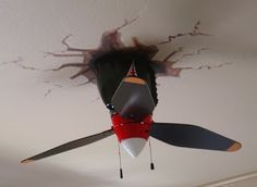 Airplane Propeller Ceiling Fan So Cool Perfect For A