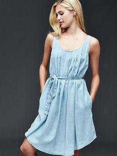 Tencel&#174 swing dress