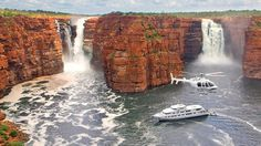 WOW! You are looking at a place I would love to go - this place is called Kimberley in Western Australia...heavenly, priceless. Coast Australia, Western Australia, Kimberly Australia, Travel Oz, Costa, Australia Landscape, Land Of Oz, Places Of Interest, Natural Wonders
