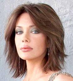 Haar ideen Kurzes Haar Kurzes Haar - Thin Hair Cuts - How to Create Thin Hair Cuts, Short Thin Hair, Medium Hair Cuts, Medium Hair Styles, Curly Hair Styles, Medium Curly, Short Blonde, Straight Hair, Layerd Hair
