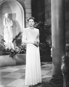 Ingrid Bergman in Notorious (Alfred Hitchcock, 1946)