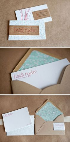 Unique Kraft Paper Wrapped Business Card