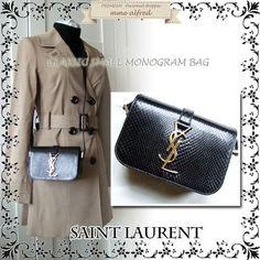 【VIPセールで破格】SAINT LAURENT サンローラン パイソンバッグ