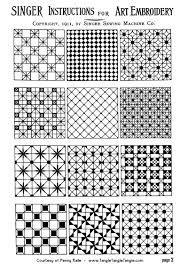 Resultado de imagen para easy zentangle patterns