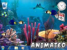 Fondo de Pantalla de Barrera de Coral Animado