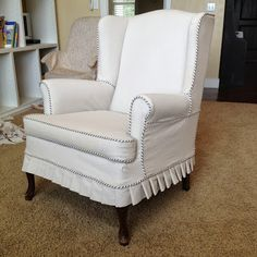 """The Sewing Nerd Slipcovers: """"Whiskers"""""""