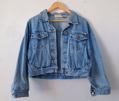 Vintage 80's SemiDistressed Light Denim by SturnelleCollection, $38.00