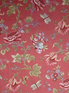 Cotton Fabric, Home Decor, Quilt Fabric,Le Bouquet Francais, Moda, Delph, 13660-11, Fast Shipping, F140