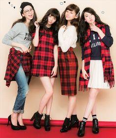 Ayami Nakajo, Yua Shinkawa, Mariya Nishiuchi, Ayaka Miyoshi Japanese Beauty, Japanese Girl, Asian Woman, Asian Girl, What To Wear Today, How To Wear, Fashion Idol, Beautiful Asian Women, Skater Skirt