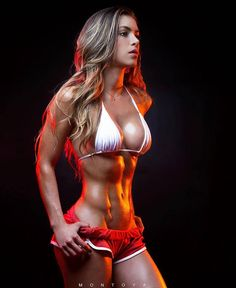 Anllela Sagra - DAMN! DAMN! DAMN! Fitness Motivation! Beautiful Fit Physique! Ripped! Awesome! Full of Power!