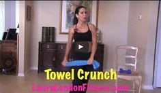 Sexy Standing Up Abs.  No equipment needed just your and a towel to work your core.