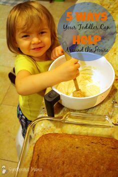 Syncopated Mama: 5 Ways Your Toddler Can Help Around the House