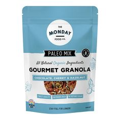 Muesli and Granola Archives Paleo Muesli, Chocolate Cherry, Vitamins And Minerals, Organic Recipes, Granola, Natural Skin Care, Whole Food Recipes, Nutrition, Wellness