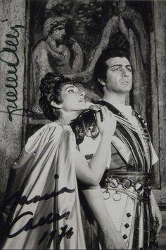 Callas and Corelli via Teatro alla Scala