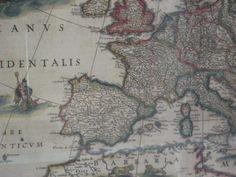... diuen que no tenim història!  -  Mapa exposat al National Gallery.