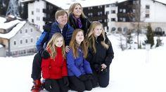 Say cheese! Jaarlijkse fotosessie in Lech voor koninklijke familie | NOS