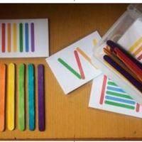 Petit jeu : le tout est de colorer les bâtonnets de glace et hop : Cliquez sur l'image pour le PDF