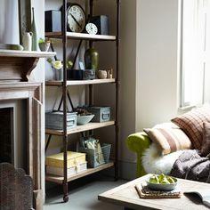 Wohnideen Country bücherregal styling 5 tipps fürs rainbowbookshelf living spaces