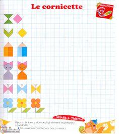 Graph Paper Drawings, Graph Paper Art, Math Patterns, Quilt Patterns, Pixel Art, School Frame, Math School, Grande Section, Aztec Art