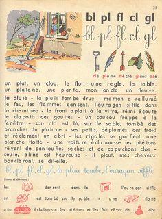 amstramgram p31 Am Stram Gram, French Language Lessons, Vintage Children's Books, Editorial Design, Vocabulary, Childrens Books, Teacher Stuff, Unique, Journals