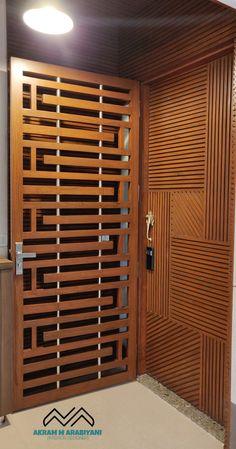 House Main Door Design, Door And Window Design, Home Door Design, Wooden Front Door Design, Grill Door Design, Door Gate Design, Wooden Front Doors, Door Design Interior, Door Grill