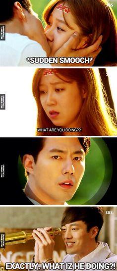 XD (So Ji Sub's expression tho. Bwhaahahaha)