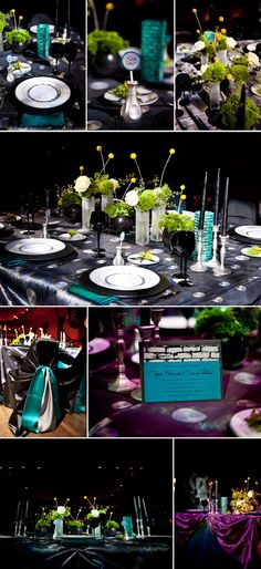 Inspiration for using teal and lime green as our colors.  Very cool!