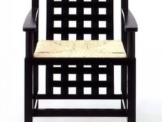Rennie Mackintosh style chair. Incredible.