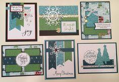 City Sidewalks card Buffet by Shelli Hartman West CTMH City Sidewalks
