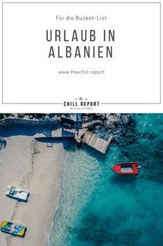 Darum muss Urlaub in Albanien auf die Bucket-List! - The Chill Report Albania, Strand, Beaches, Traveling, Europe, Movie Posters, Summer Recipes, Viajes, Film Poster
