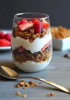 This Granola Parfait is the perfect after school snack.