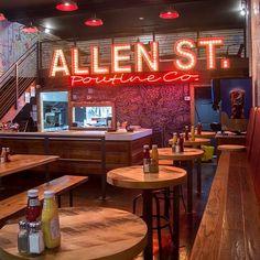 Allen St. Poutine Co: http://www.allenstreetpoutine.com/index.html