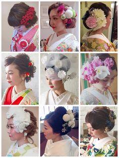 マリ 和装 hair イロイロ ♡ | 浜松市にある美容室 Brillant