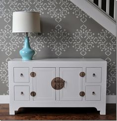 Or Stencils!  Favorite Wall Treatment Trends {Friday Favorites} The Creativity Exchange