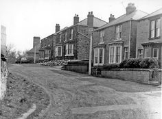 Nos. 12, 14 etc., Rockmount Road, Low Wincobank with the Vicarage in the background