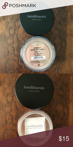 BARE MINERALS FOUNDATION NEW BARE MINERALS ORIGINAL TAN(N30) MINERAL FOUNDATION NEW 8g bareMinerals Makeup Foundation