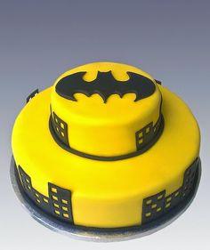 10 modelos de bolos de aniversário do tema Batman - Dicas pra Mamãe